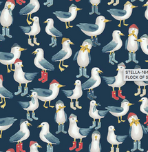 Load image into Gallery viewer, Dear Stella - Flock of Seagulls - 1/2 YARD CUT