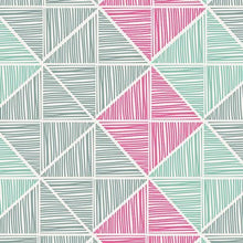 Load image into Gallery viewer, Art Gallery Fabrics - Angular Strings - Coated - 1/2 YARD CUT - Dreaming of the Sea Fabrics
