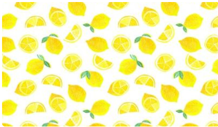 Dear Stella - White Lemons - 1/2 YARD CUT - Dreaming of the Sea Fabrics