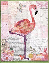 Load image into Gallery viewer, Teeny Tiny Collage Patterns Flamingo, Bear, Vintage Trailer Pattern - Dreaming of the Sea Fabrics