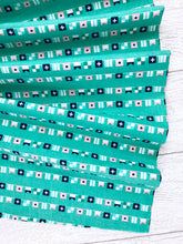 Load image into Gallery viewer, Riley Blake - Seaside Flags - Teal - 1/2 YARD CUT