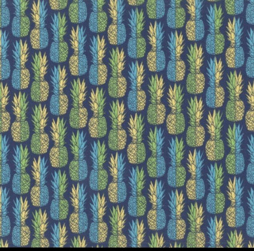 Dear Stella - Regatta Pineapples - 1/2 YARD CUT - Dreaming of the Sea Fabrics