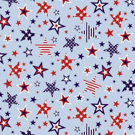 red white light blue stars large patriotic independence stripes studio e fabric