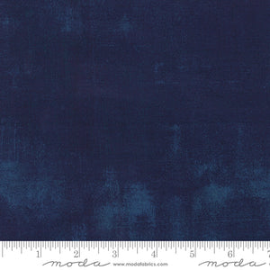 Moda Grunge Basics - Navy 1/2 YARD CUT