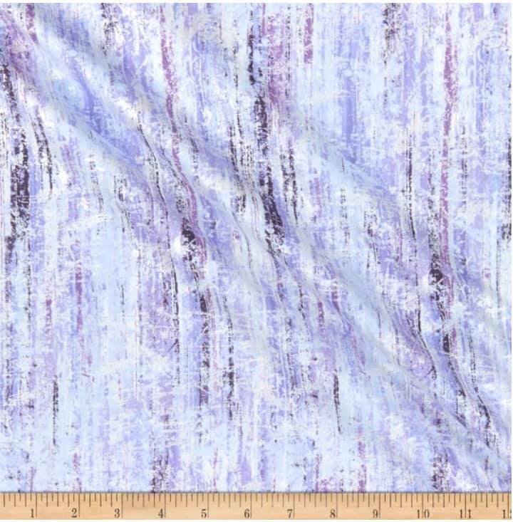 Henry Glass & Co Pearl Luxe II - Purple 1/2 YARD CUT
