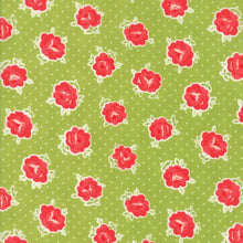 Load image into Gallery viewer, Moda Fabrics - Smitten - Lovely Green - 1/2 YARD CUT