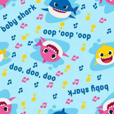 light blue oop doo song lyrics baby mommy daddy shark music toss springs creative fabric prints designs nickelodeon