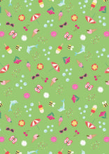 Load image into Gallery viewer, Lewis & Irene - Summer - Zingy Green - 1/2 YARD CUT