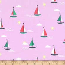 Load image into Gallery viewer, Michael Miller - Sunset Cruise - Pink - 1/2 YARD CUT
