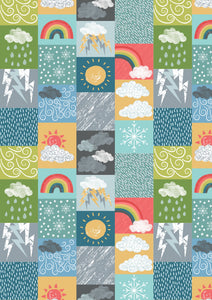 Lewis & Irene - Whatever the Weather Dark - 1/2 YARD CUT