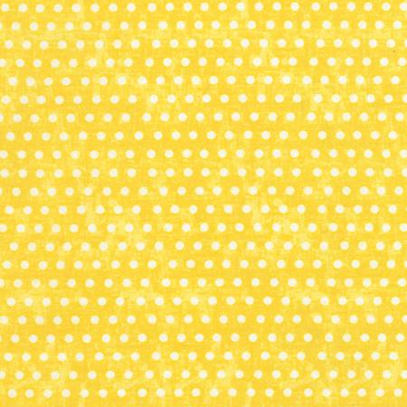 Timeless Treasures - Ophelia - Yellow Dots - 1/2 YARD CUT