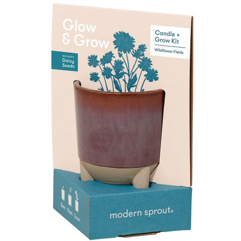 Glow + Grow Candle Plus Seed Starter Kit (Multiple)