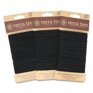 Hair Ties - 100% Organic & Biodegradable