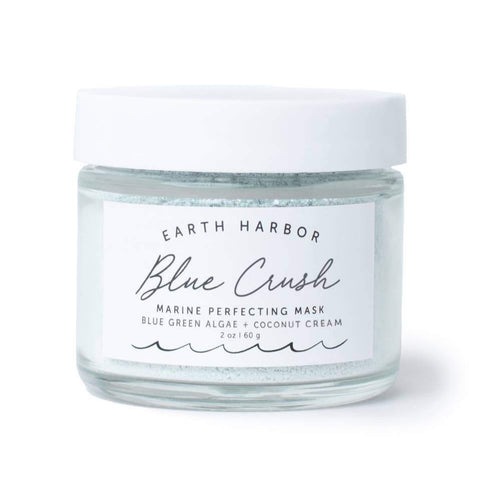 BLUE CRUSH Marine Perfecting Mask was created to beautify and soften skin with a wave of nourishment that will have you immediately crushing on your skin.