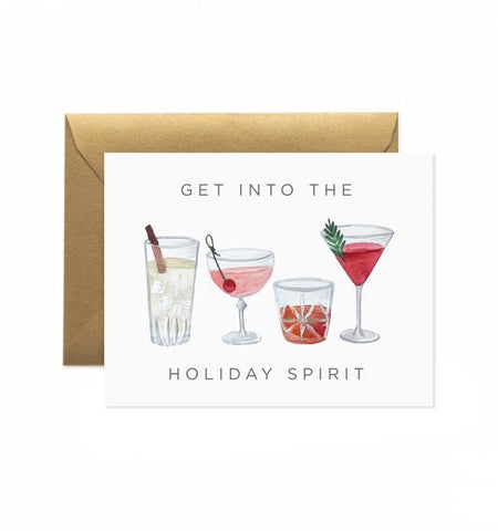 100% recycled greeting card—get into the holiday spirit!