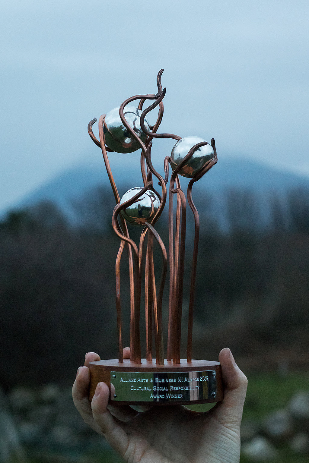 Nurture Trophies – Allianz Arts & Business Awards 2019