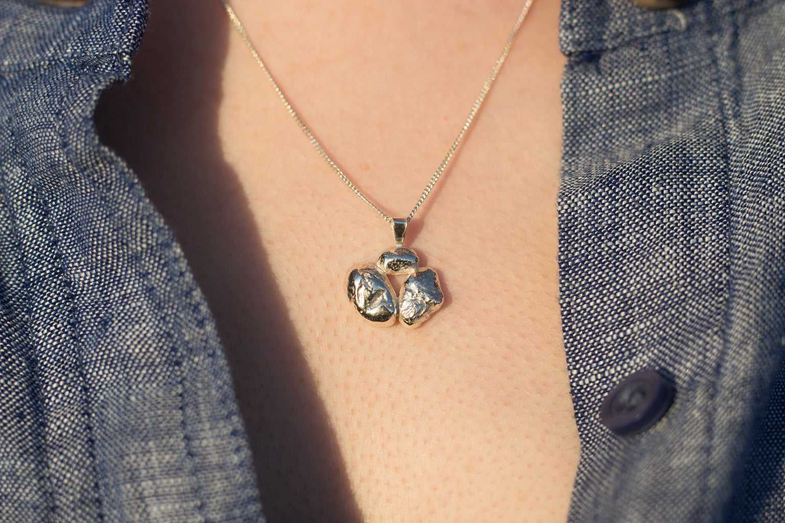 Rocky Hill Trio Necklace