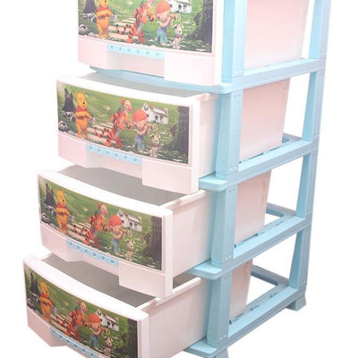 PLASTIC STORAGE DRAWERS & CABINETS