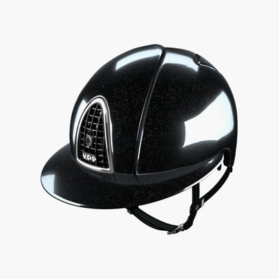CASQUE CROMO DIAMOND NOIR VISIERE POLO | KEP