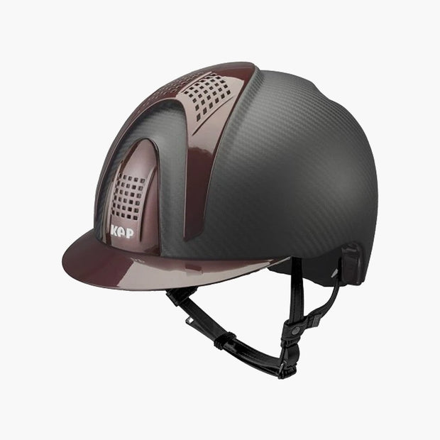 CASQUE E LIGHT MATT 3 DETAILS | KEP 51 / BORDEAUX