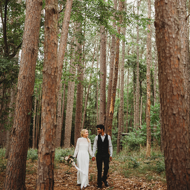 Elopement with Boston Mountain Photo