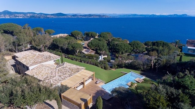 Villa for rent Parks of Saint Tropez