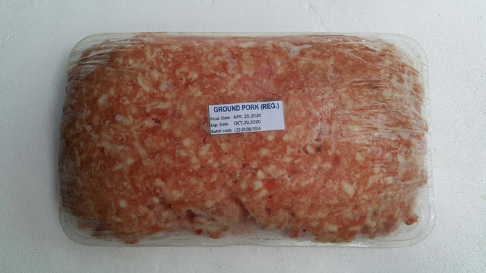 Ground Pork Regular / kg - Mr. Gulay Online Store