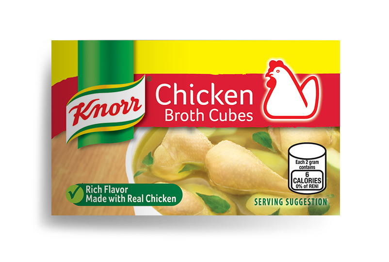 Knorr Chicken Broth Cubes - Mr. Gulay Online Store