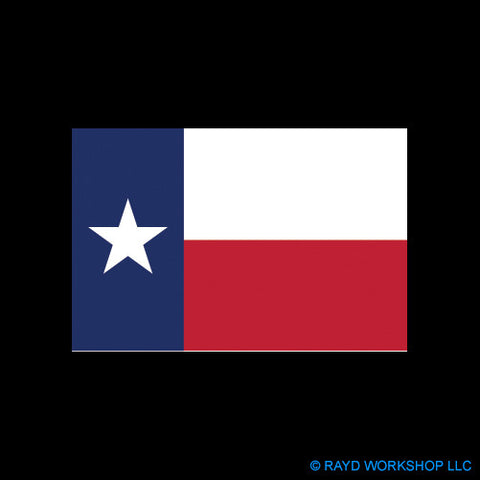 "4"" Texas State Flag"