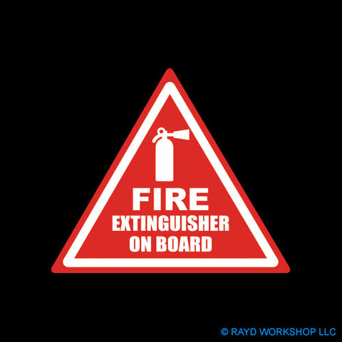 Fire Extinguisher On Board