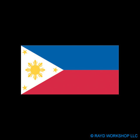 "4"" Filipino Flag"