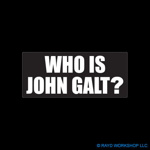 Who is John Galt ?