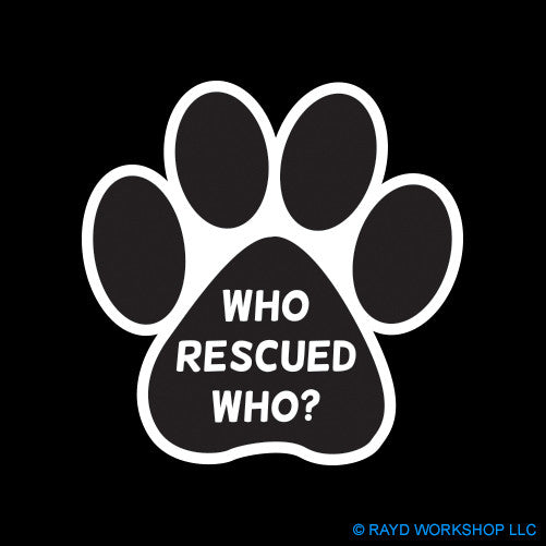 Who Rescued Who Paw
