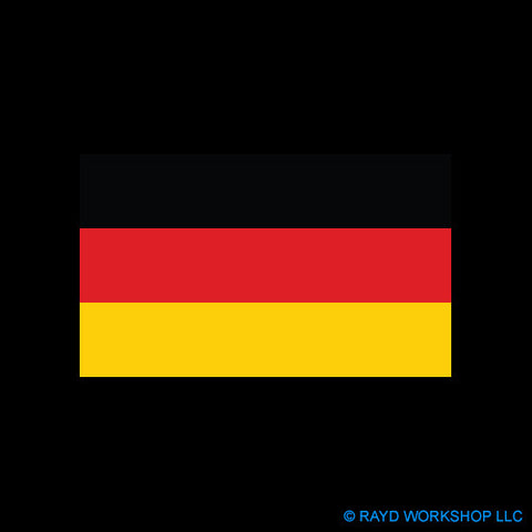 4 Inch German Flag