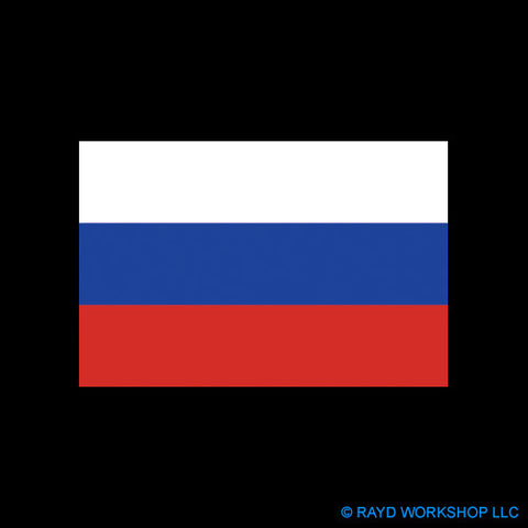 4 Inch Russian Federation Flag
