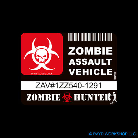 Zombie Assault Vehicle License