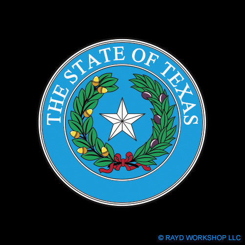4 Inch Texas State Seal