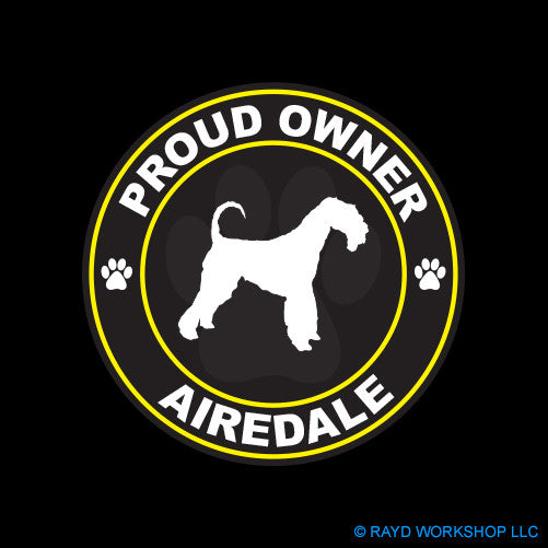 Proud Owner Airedale