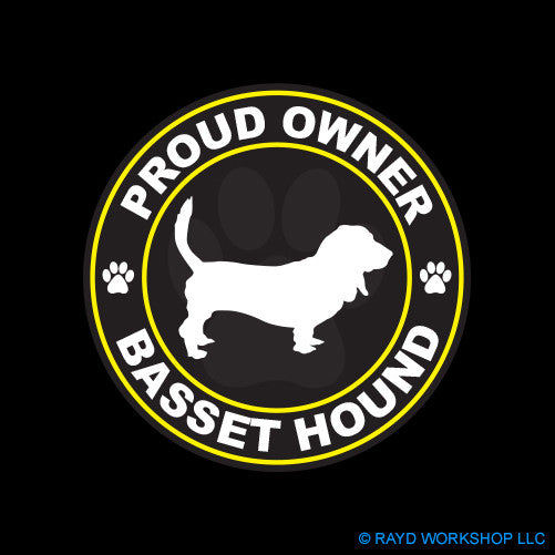 Proud Owner Basset Hound
