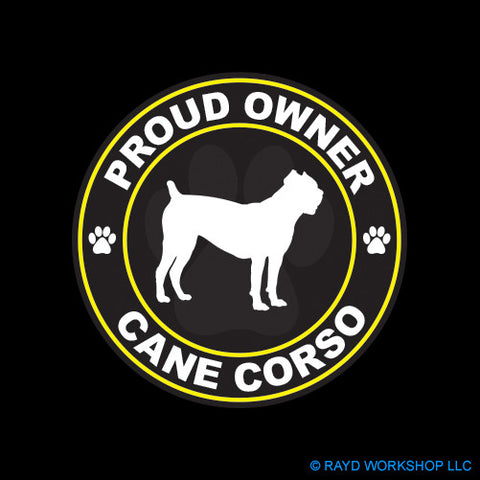 Proud Owner Cane Corso