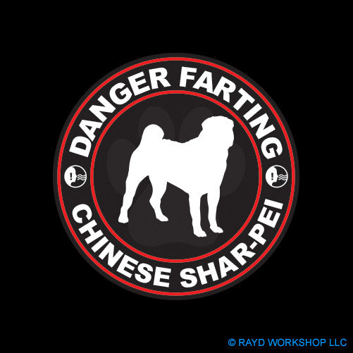 Danger Farting Chinese Shar-Pei