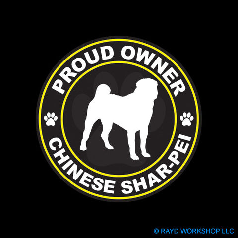 Proud Owner Chinese Shar-Pei
