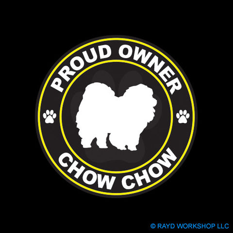 Proud Owner Chow Chow