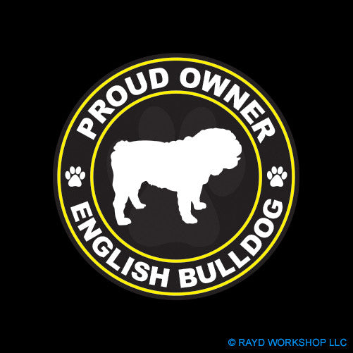 Proud Owner English Bulldog