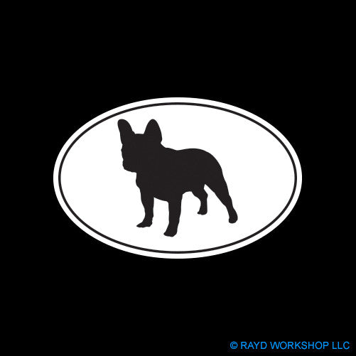 French Bulldog Euro Oval