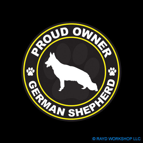 Proud Owner German Shepherd