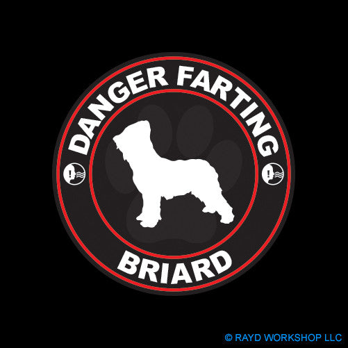 Danger Farting Briard