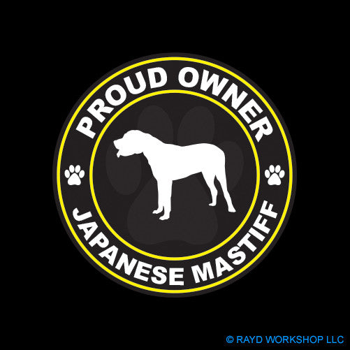 Proud Owner Japanese Mastiff