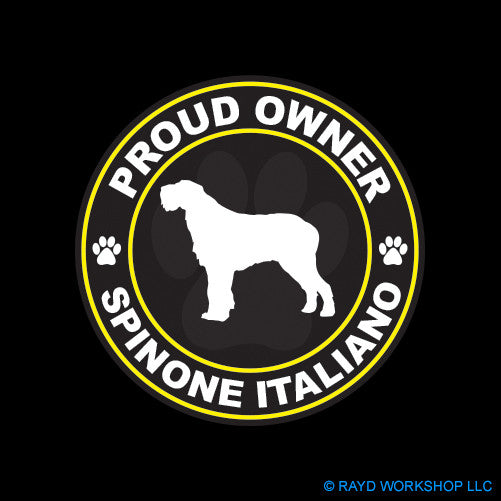 Proud Owner Spinone Italiano