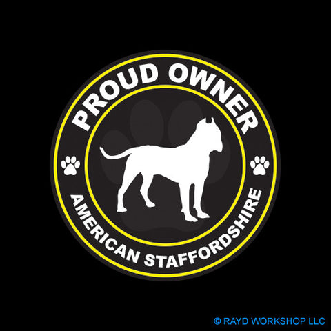 Proud Owner American Staffordshire